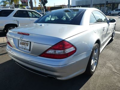 2008 Mercedes-Benz SL550 V8