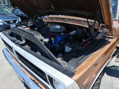 1972 Ford F250 CUSTOM STYLE SIDE